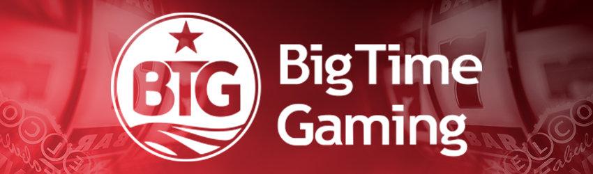 Big Time Gaming on suosittujen Megaways -kolikkopelien valmistaja